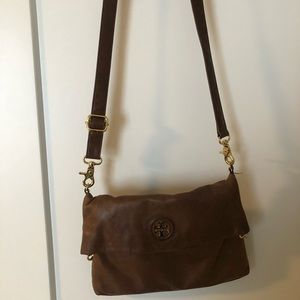 Tory Burch brown satchel
